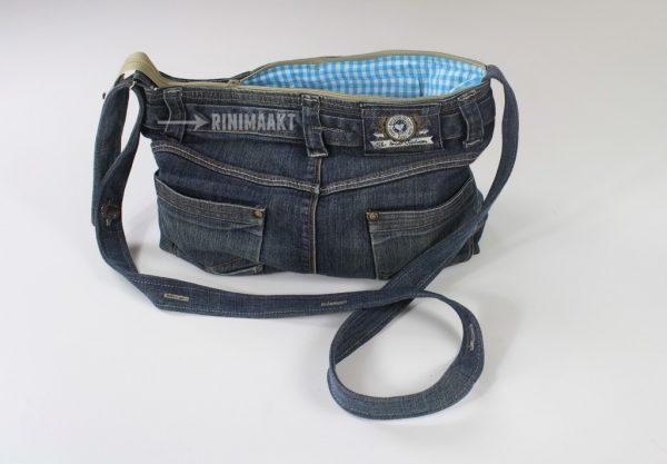 rinimaakt spijkerbroek tas DIY