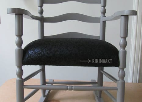 rinimaakt Rinimaakt schommelstoel stofferen
