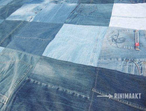 rinimaakt rini maakt spijkerbroek spijkerbroeken deken plaid kleed jeans blanket