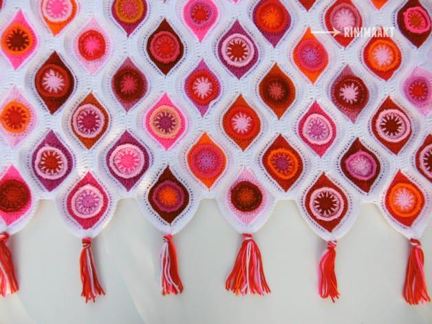 rinimaakt rini maakt red heart ornament haken