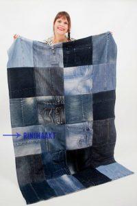 rinimaakt rini maakt spijkerbroek spijkerbroeken deken plaid kleed