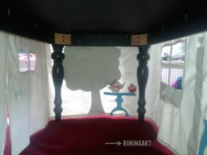 rinimaakt Rini maakt Rinimaakt tafeltent DIY do it yourself Doe het zelf naaien