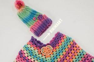 rinimaakt rini maakt Rini Maakt muts poncho DIY