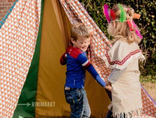 rinimaakt rini maakt vlaggen vlaggetjes tipi tent kids op de foto.nl kidsopdefoto.nl
