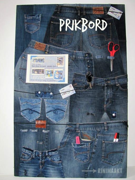 rinimaakt rini maakt Rini spijkerbroek prikbord spijkerbroeken vintage