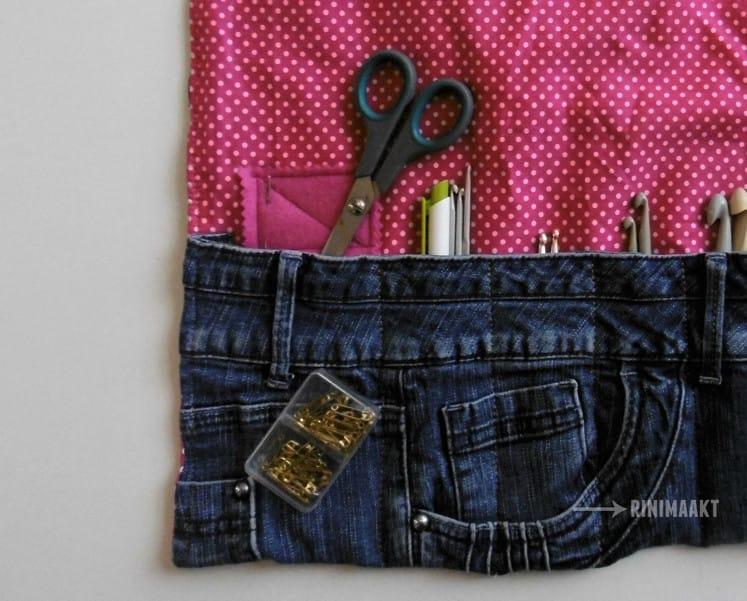 rinimaakt rini maakt Rini haken haaktasje tips do it yourself DIY spijkerbroek spijkerbroeken jeans