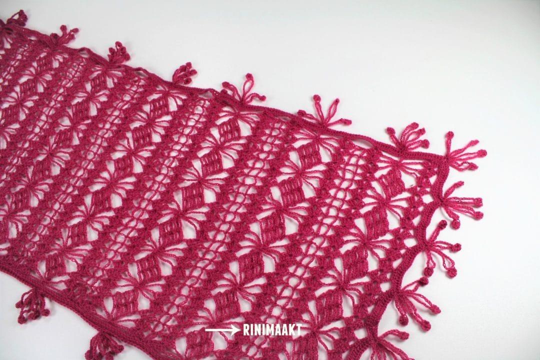 gehaakte sjaal Tendril wrap