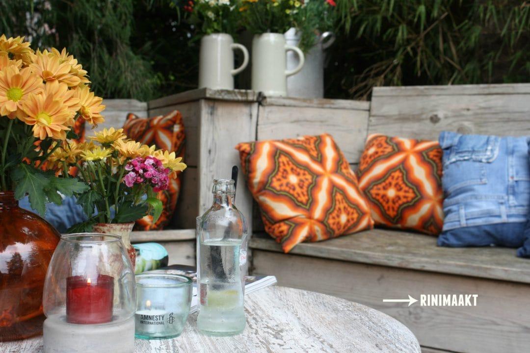 rinimaakt Rinimaakt rini maakt Rini spijkerbroeken kussens café Schiller Aalten oerkroeg DIY