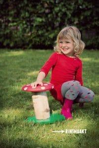 rinimaakt Rinimaakt Rini Maakt maakt paddenstoel kruk krukje meubels herfst DIY