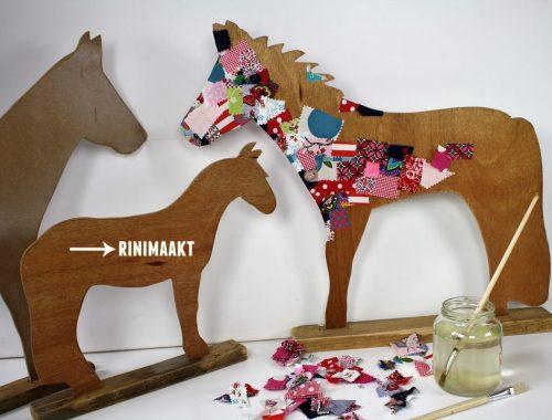 rinimaakt paard DIY horse