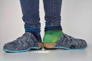 rinimaakt sloffen spijkerbroek