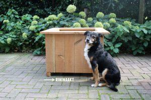 rinimaakt houten plantenbak DIY