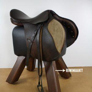 rinimaakt paard zadelkruk DIY horse