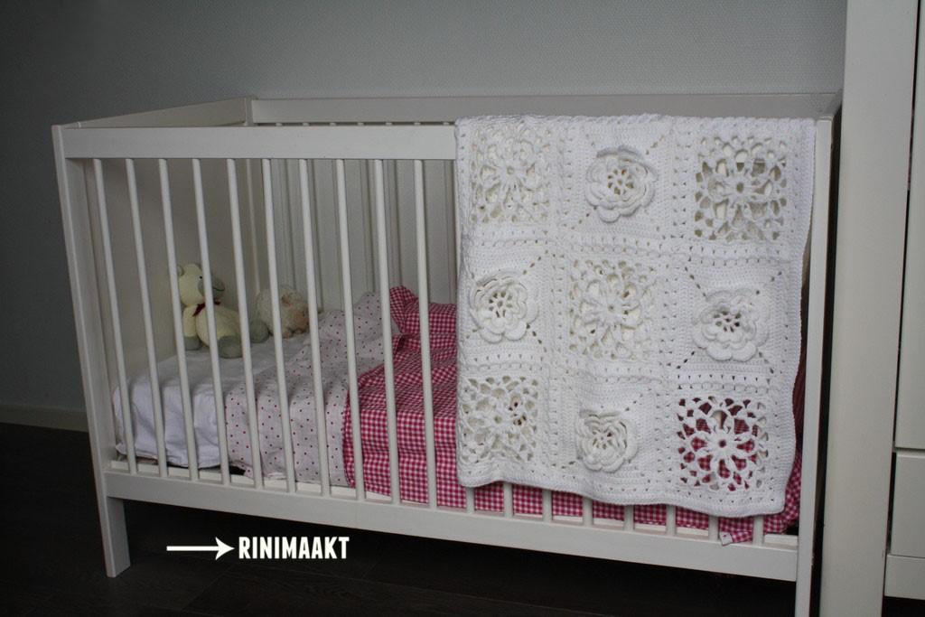 rinimaakt blokken deken baby haken