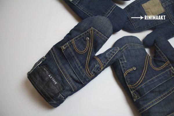 rinimaakt.nl spijkerbroek ovenwant jeans oven mitt
