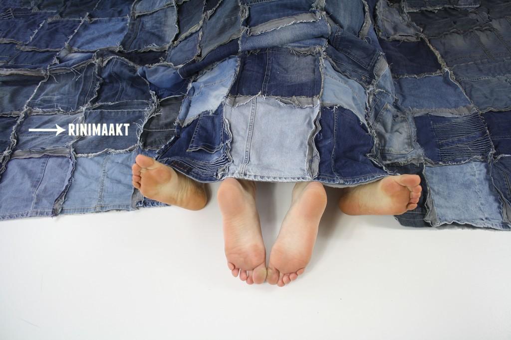 rinimaakt.nl Rini maakt jeans blanket