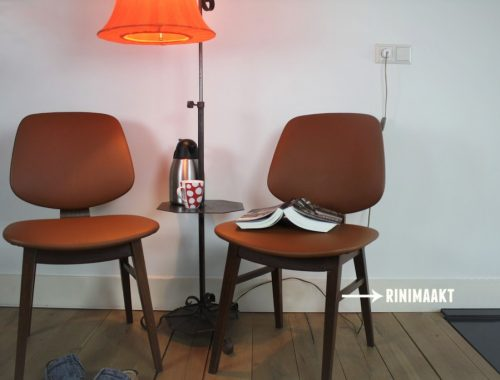 rinimaakt retro stoelen chair