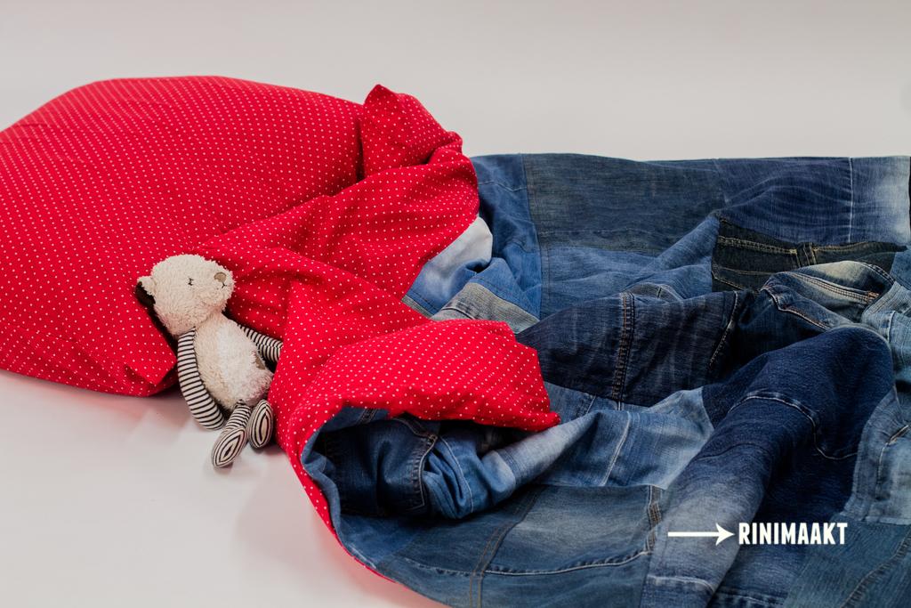 jeans dekbedovertrek