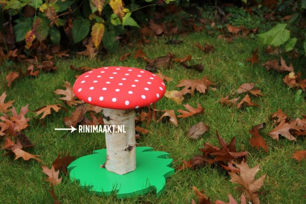 paddenstoel kinderkruk
