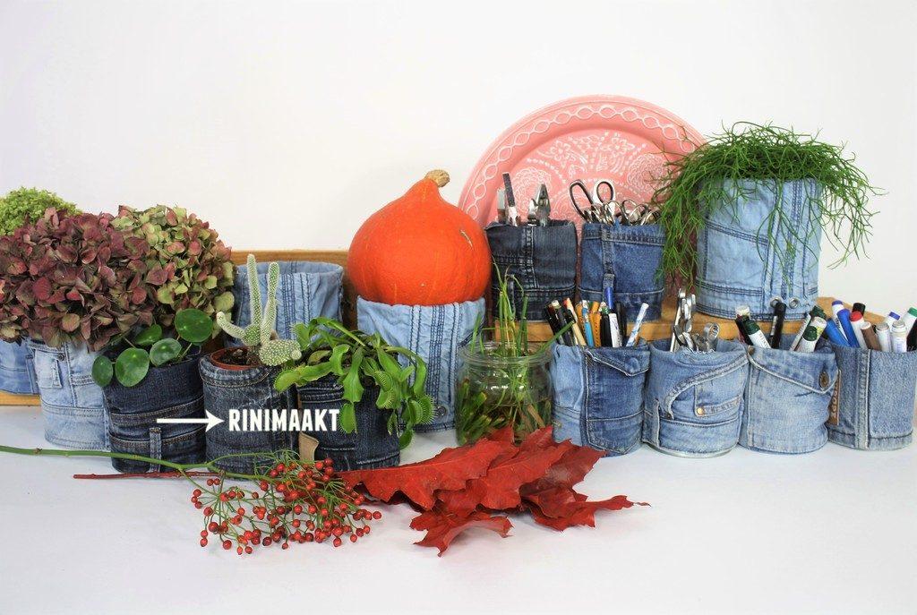 rinimaakt.nl spijkerbroek opberg potjes