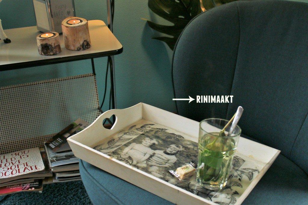 rinimaakt.nl foto op dienblad