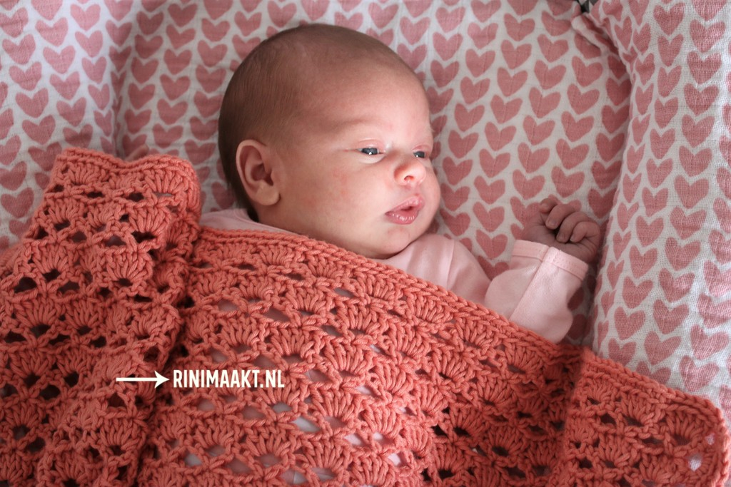 gehaakt baby dekentje
