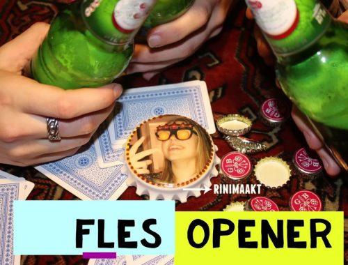 rinimaakt.nl fles opener met epoxy kunsthars
