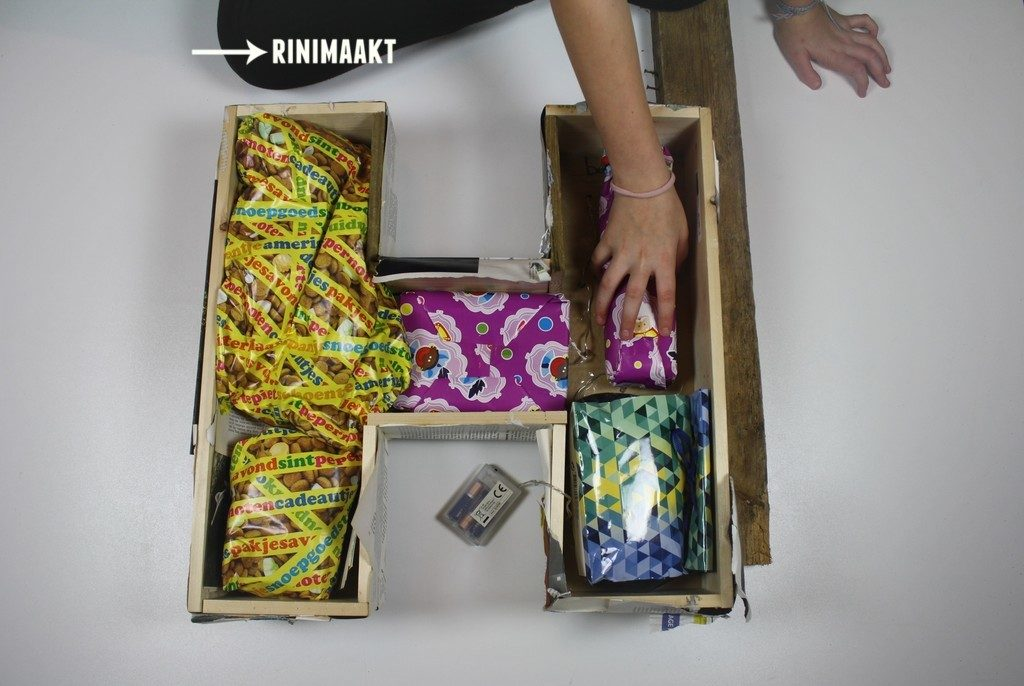 rinimaak.nl Sinterklaas Kerst surprice letter boekenwurm