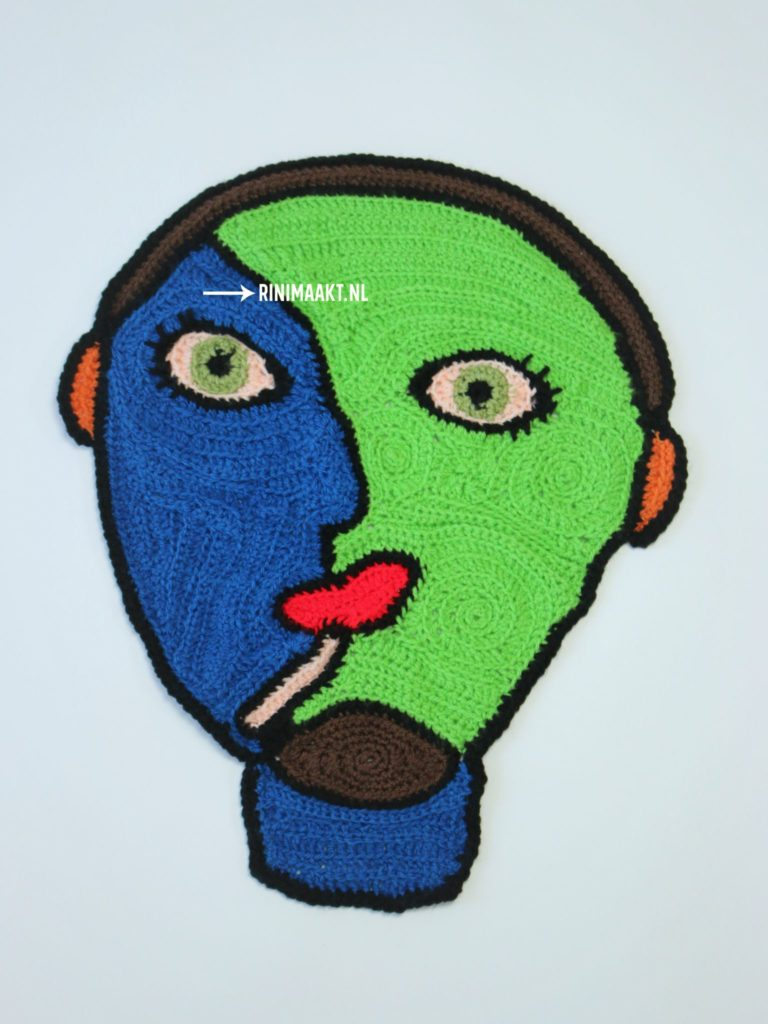 rinimaakt free form crochet