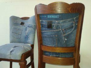 rinimaakt rini maakt spijkerbroek spijkerbroeken stoel stoelen meubels
