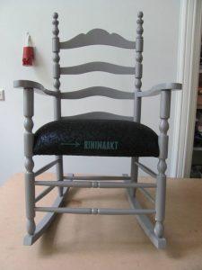 schommelstoel stofferen rinimaakt rini maakt