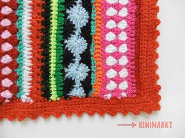 Fonkelnieuw Gehaakte kinder deken, CAL 2014 Crochet ALong - rinimaakt DO-07
