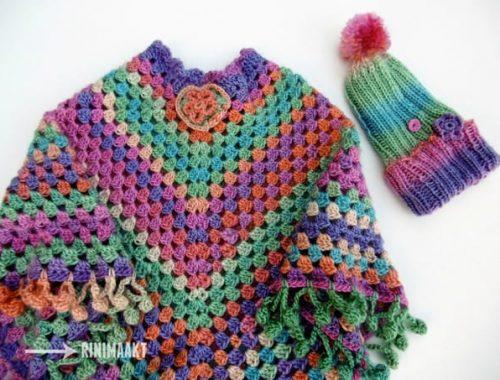 rinimaakt rini maakt Rini Maakt muts poncho DIY crochet