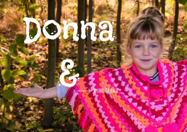 rinimaakt rini maakt poncho Donna haken kids op de foto.nl kidsopdefoto.nl