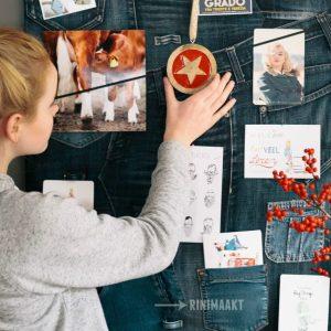 rinimaakt rini maakt Rini spijkerbroek prikbord Gea Laar spijkerbroeken vintage KijkG