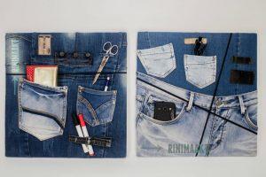 rinimaakt rini maakt Rini spijkerbroek prikbord Gea Laar spijkerbroeken vintage