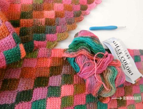 rinimaakt rini maakt Rini Maakt Tunisch haken DIY Do It Yourself Doe het zelf crochet