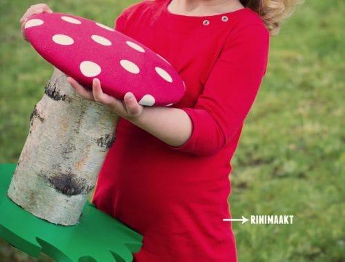 paddenstoel kinder kruk