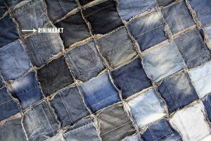 rinimaakt.nl Rini maakt spijkerbroek deken