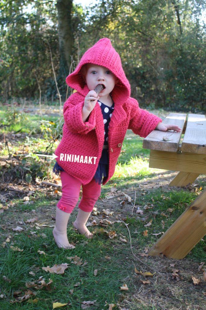 rinimaakt.nl baby vest maat 86 ster steek madelief steek
