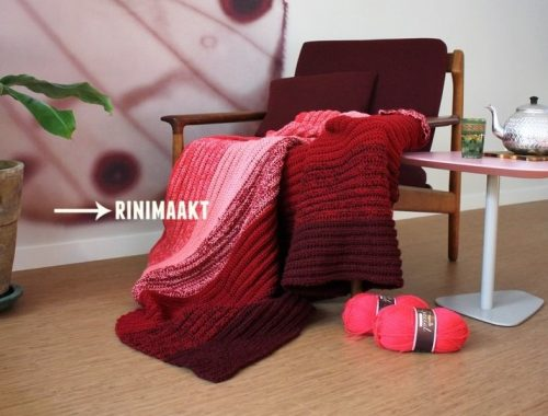 gehaakte deken