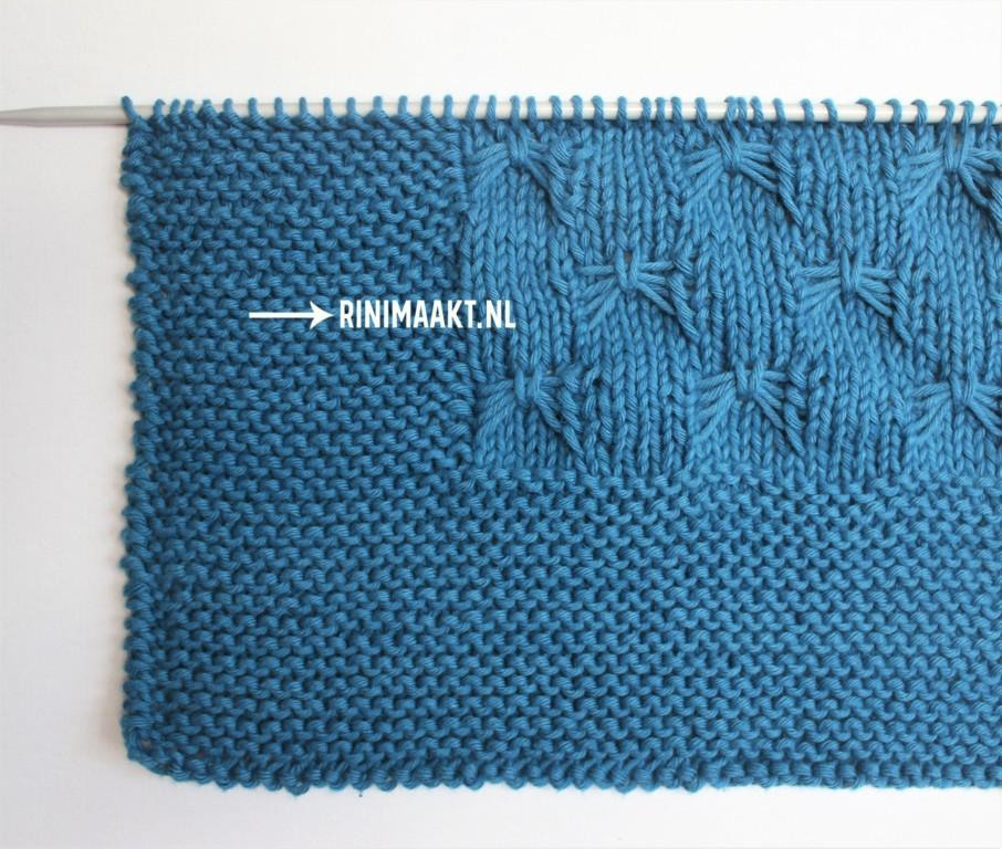 rinimaakt.nl rini maakt vlindersteek deken breien