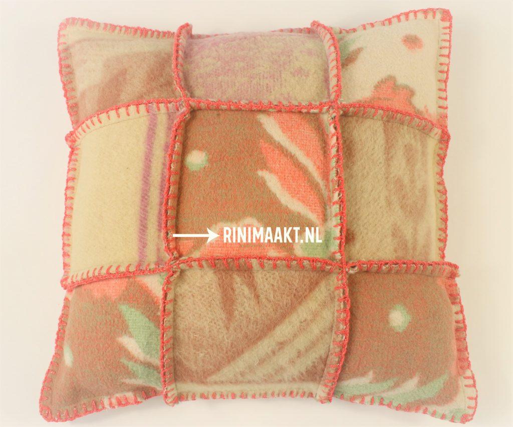 rinimaakt.nl kussen wollen dekens pillow blanket