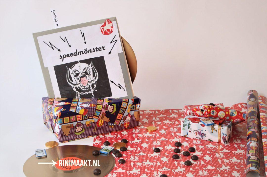 Sinterklaas surprise gouden plaat / LP