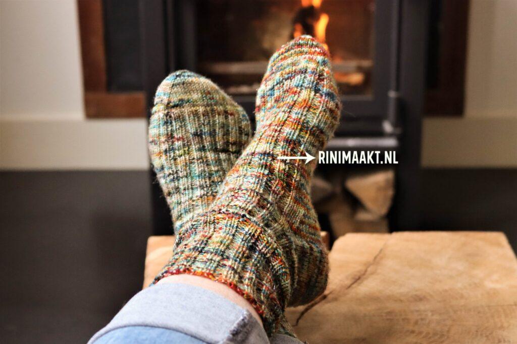 gebreide sokken maat 39